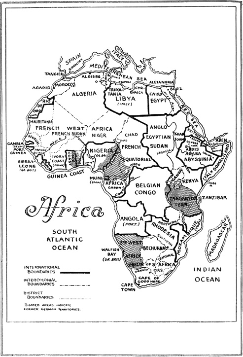 Pre-War and Post-War Imperialism in Africa: CQR