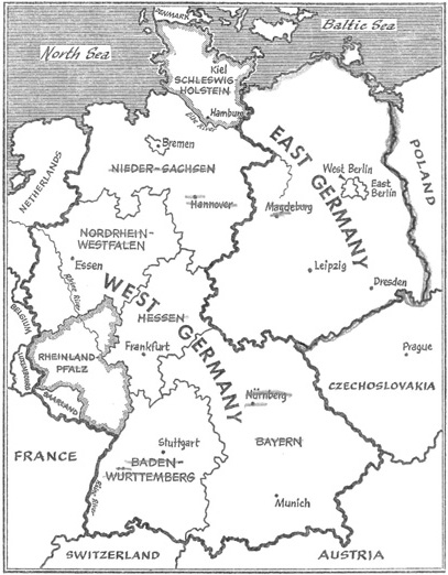 adenauer was against denazification programme