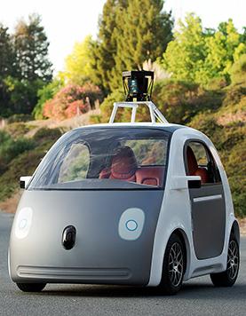 googles driverless electric car google